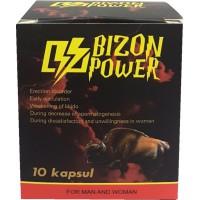 BIZON POWER PËR BURRA DHE GRA X 10 KAPSULA - STIMULANT SEKSUAL BIMOR